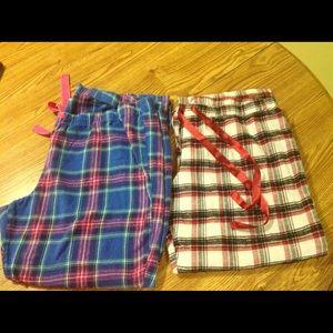 Other - 2 flannel pajama bottoms XXL